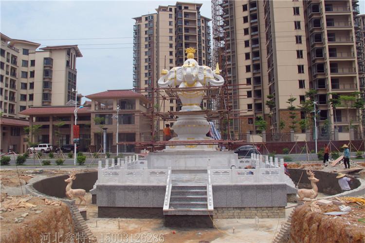 小区石雕喷泉